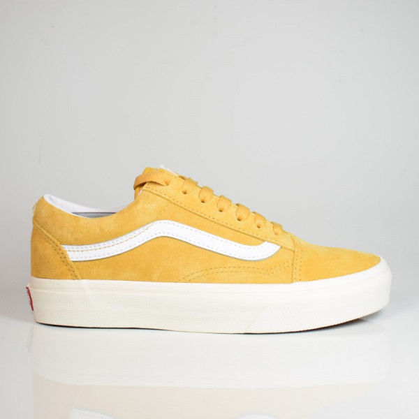 VANS OLD SKOOL (PIG SUEDE) HONEY GOLD/TRUE WHITE VN0A4U3B18Z1