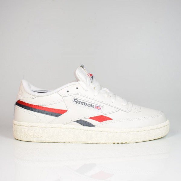 REEBOK CLUB C REVENGE CHALK/VECTOR RED/TRUE GREY FV6367