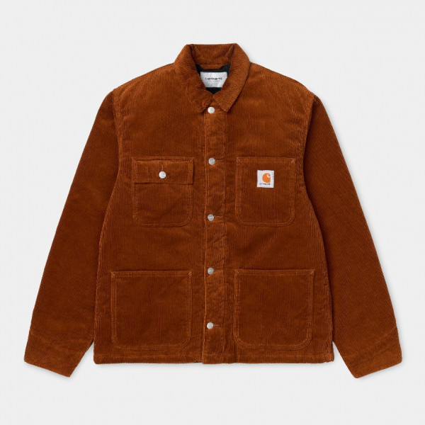 CARHARTT MICHIGAN COAT BRANDY RINSED I028628