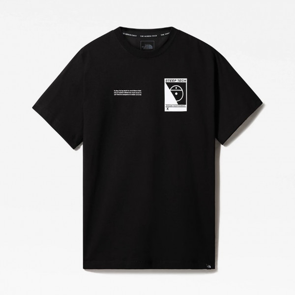 THE NORTH FACE S/S STEEP TECH TEE BLACK NF0A4746JK31