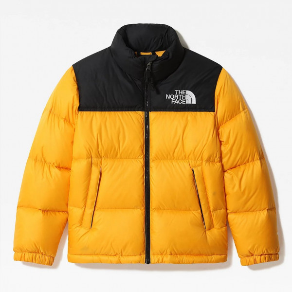 THE NORTH FACE YOUTH 96 NUPTSE JKT SUMMIT GOLD NF0A4TIM56P