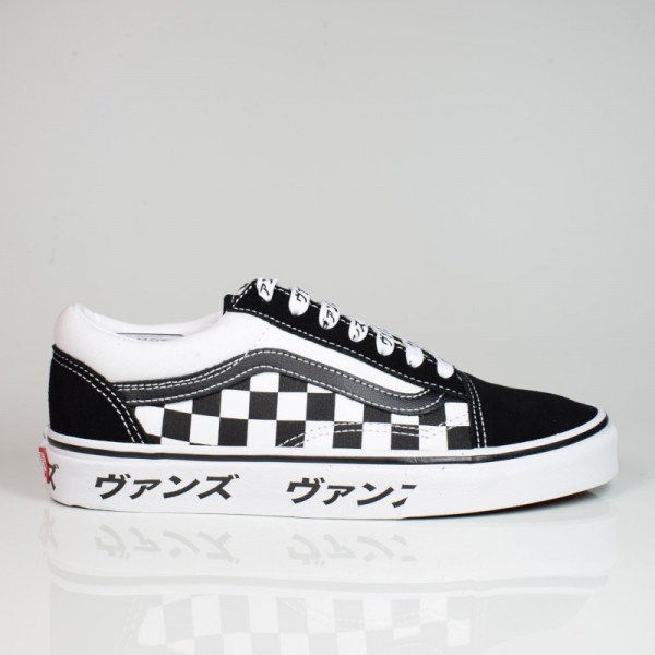 VANS OLD SKOOL ( JAPANESE TYPE) BLACK/TRUE WHITE VN0A4U3BSJZ1