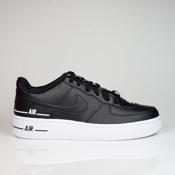 NIKE AIR FORCE 1 LV8 3 (GS) BLACK/BLACK-WHITE CJ4092-001