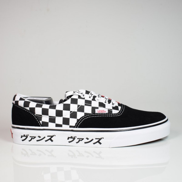 VANS ERA (JAPANESE TYPE) BLACK/RACING RED/TRUE WHITE VN0A4BV42241