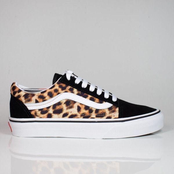 VANS OLD SKOOL LEOPARD BLACK/TRUE WHITE VN0A4U3B3I61