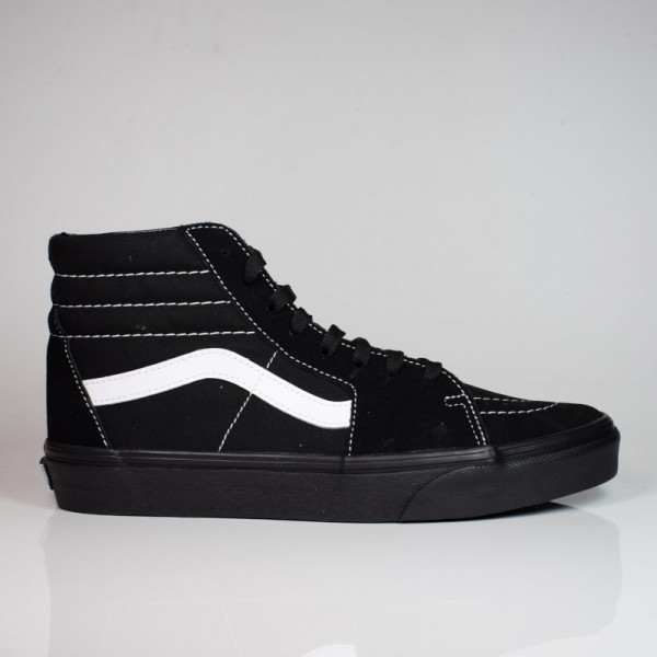 VANS SK8-HI (SUEDE/CANVAS) BLACK/BLACK/TRUE WHITE VN0A32QG5WU1