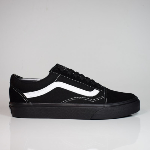 VANS OLD SKOOL (SUEDE/CANVAS) BLACK/TRUEWHITE VN0A3WKT5WU1