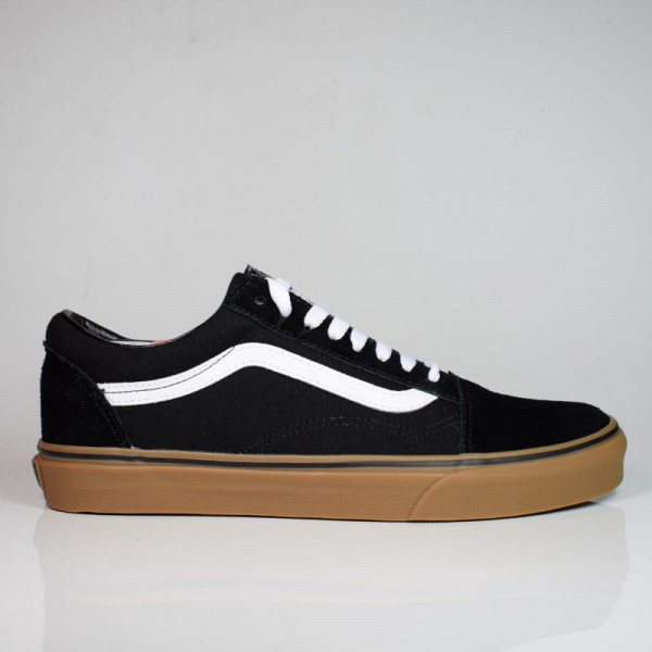 VANS OLD SKOOL (GUMSOLE)BLACK/MEDIUM GUM VN0001R1GI61