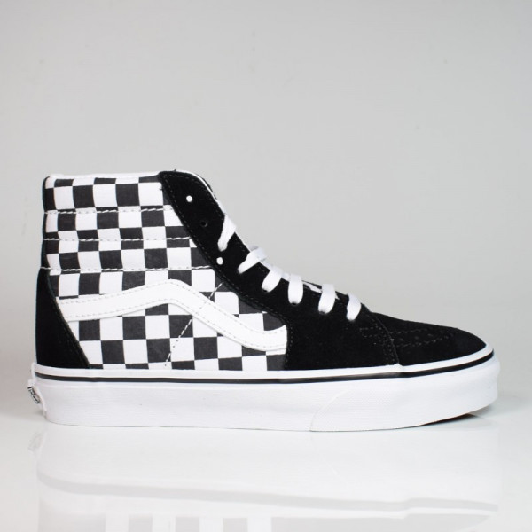 VANS SK8-HI (CHECKERBOARD) BLACK/TRUE WHITE VN0A32QGHRK1