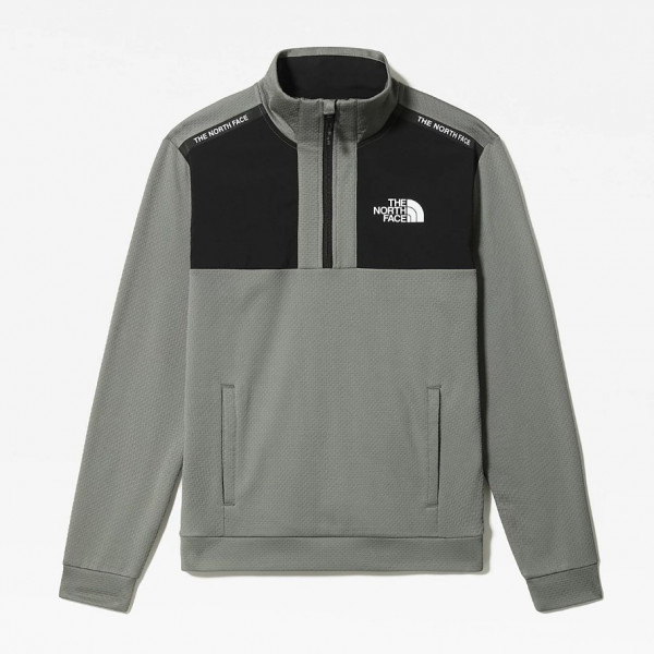 THE NORTH FACE MOUNTAIN ATHLETICS 1/2 ZIP AGAVE GREEN NF0A5576V38