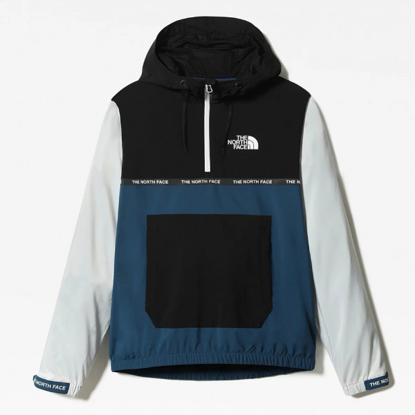 THE NORTH FACE MOUNTAIN ATHLETICS WIND JACKET BLUE/WHITE NF0A5575ZBX