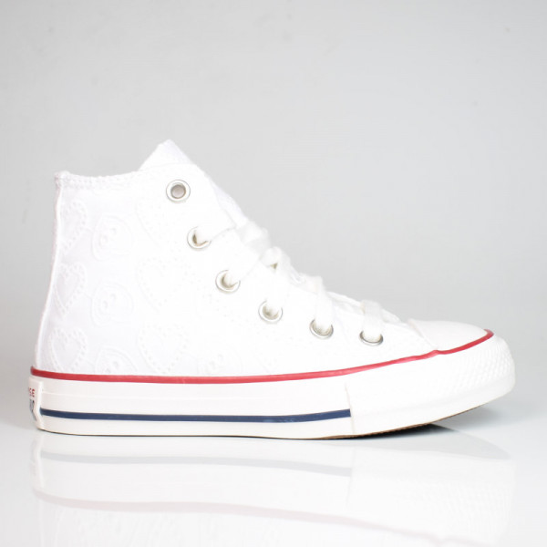 CONVERSE LOVE CEREMONY CHUCK TAYLOR ALL STAR HIGH TOP WHITE/VINTAGE/MULTI 671097C