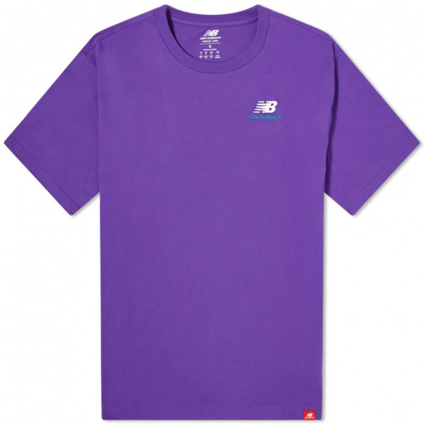 NEW BALANCE EMBRIODERED TEE MT11592PRP