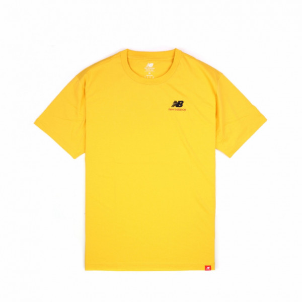 NEW BALANCE EMBRIODERED TEE YELLOW MT11592