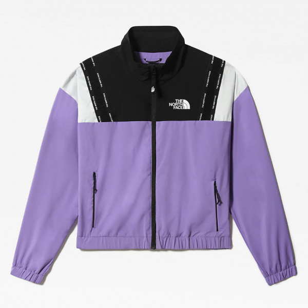 THE NORTH FACE W MOUNTAIN ATHLETICS WIND JACKET PURPLE/BLACK NF0A5563ZBS