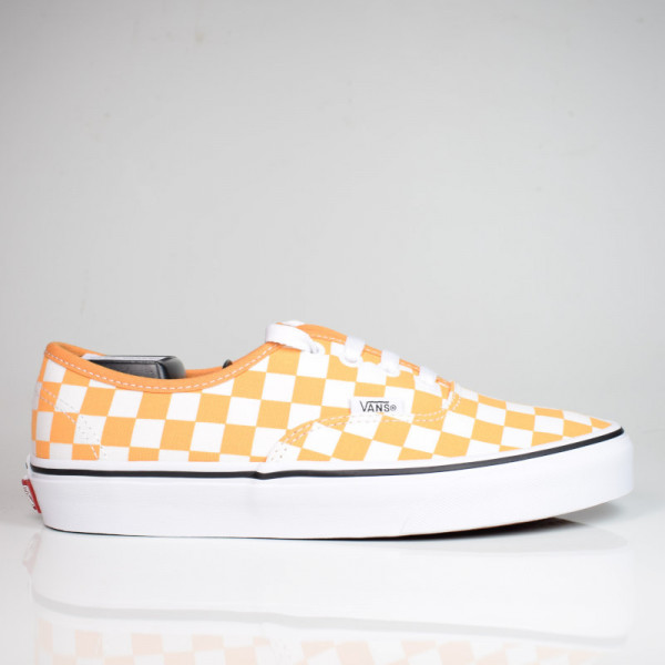 VANS AUTHENTIC (CHECKERBOARD) GOLDEN/TRUE WHITE VN0A348A3XV1
