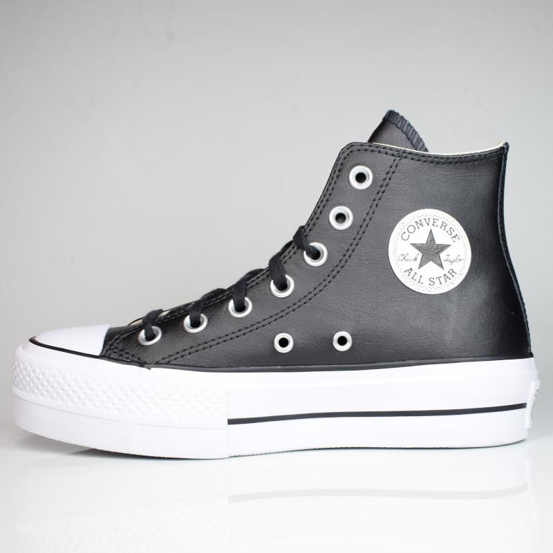 CONVERSE CHUCK TAYLOR ALL STAR LIFT HI BLACK/WHITE 561675C