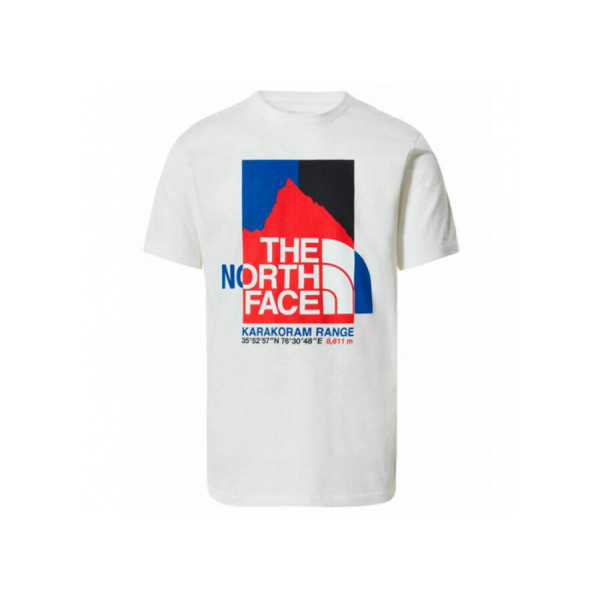 THE NORTH FACE M K2RM SS TEE TNF WHITE NF0A55ULFN41