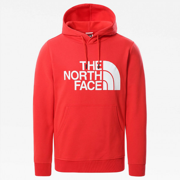 THE NORTH FACE M STANDARD HOODIE HORIZON RED NF0A3XYDV331