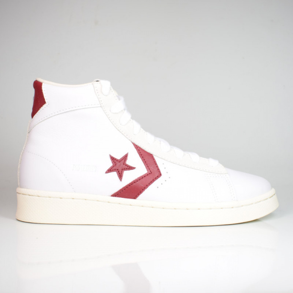 CONVERSE PRO LEATHER WHITE/TEAM RED 170648C