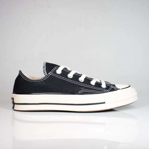 CONVERSE CHUCK 70 OX BLACK/BLACK/EGRET 162058C