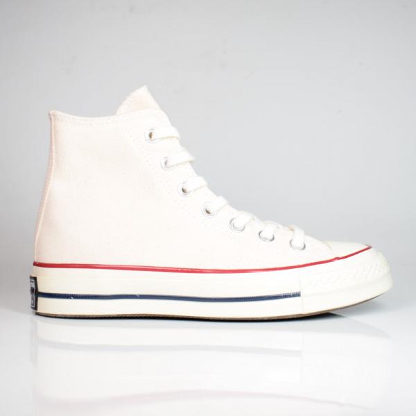 CONVERSE CHUCK 70 CLASSIC HIGH TOP WHITE / GARNET / EGREY 162053C