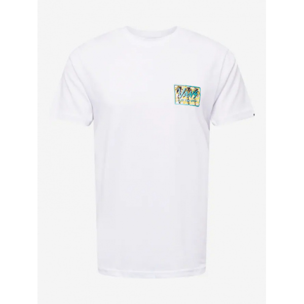 CAMISETA VANS MN SKETCHED PALMS SS WHITE VN0A5KCJWHT