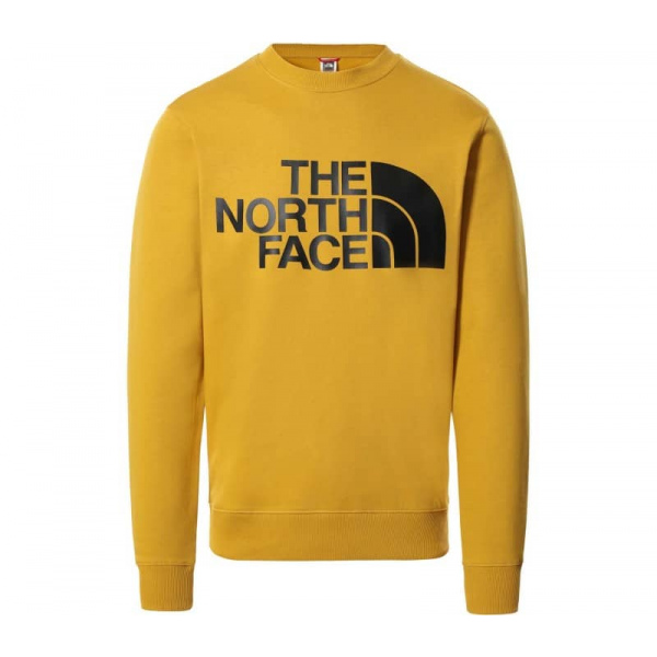 THE NORTH FACE M STANDARD CREW ARROWWOOD YELLOW NF0A4M7WH9D1
