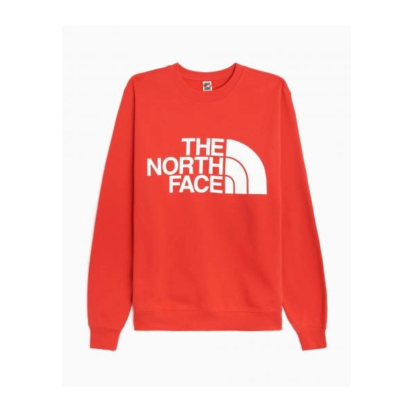 THE NORTH FACE M STANDARD CREW HORIZON RED NF0A4M7WV331