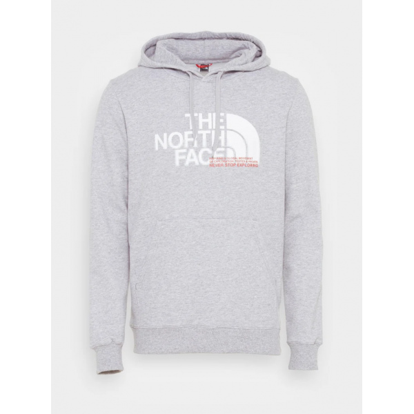 THE NORTH FACE M COORD HOODIE LIGHT GREY HEATHER NF0A5ICKDYX1