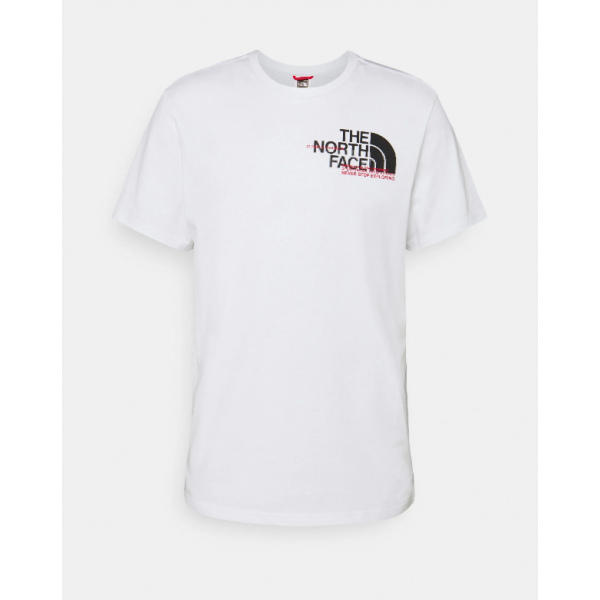 THE NORTH FACE M COORD S/S TEE WHITE NF0A5ICOFN41