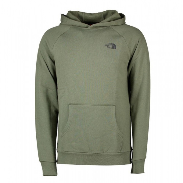 THE NORTH FACE M RAGLAN RED BOX HD BALSAM GREEN NF0A2ZWUHBS1