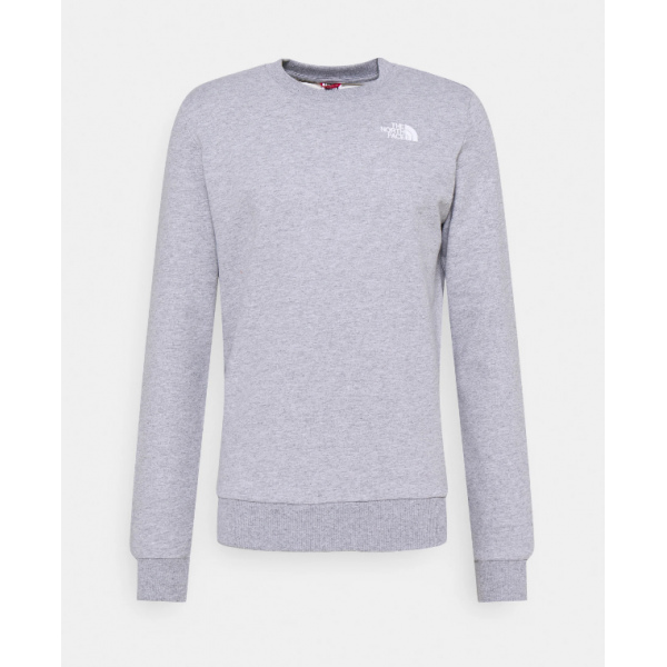 THE NORTH FACE M COORDINATES CREW LIGHT GREY HEATHER NF0A5ICNDYX1