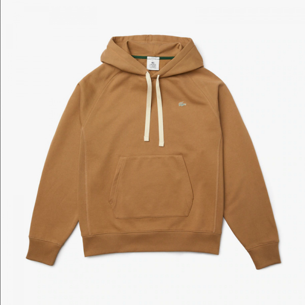 SUDADERA LACOSTE LIVE LOOSE FIT BEIGE SH9202-00