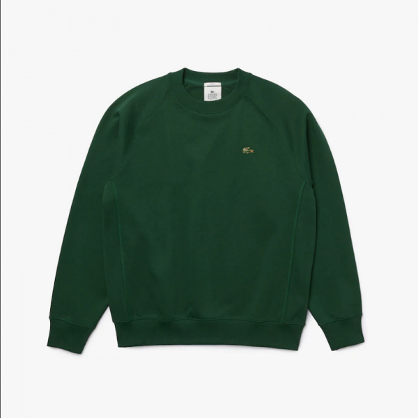 SUDADERA LACOSTE LIVE LOOSE FIT GREEN SH9174-00-132