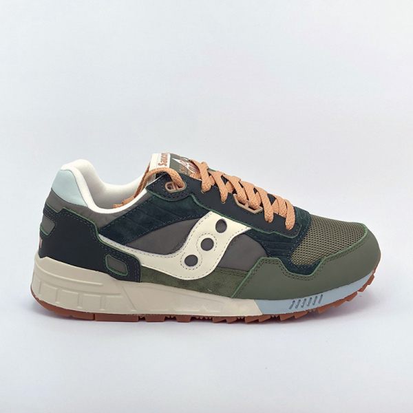 SAUCONY SHADOW 5000 FOREST/TAN VERT FONCE S70584-3