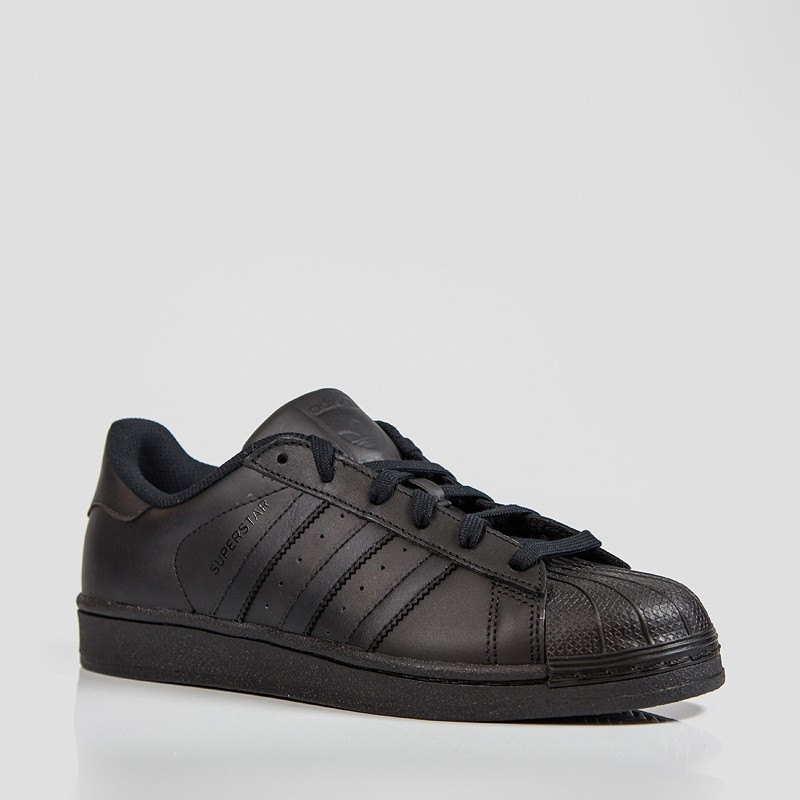 ADIDAS SUPERSTAR FOUNDATION CBLACK/CBLACK
