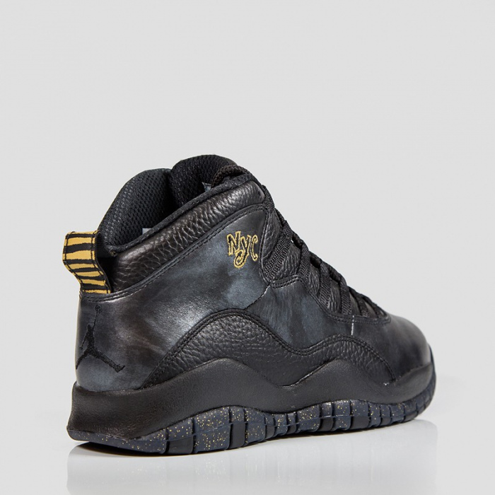 AIR JORDAN RETRO 10 BLACK/BLACK-DRK GREY