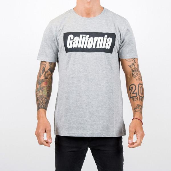 camiseta gris negro