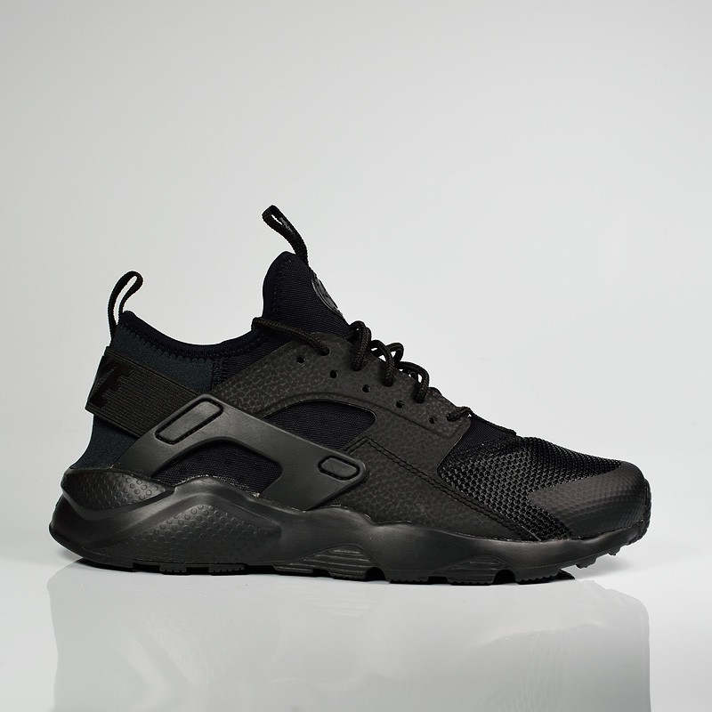 e4dfa7ce805 NIKE AIR HUARACHE RUN ULTRA GS BLACK BLACK