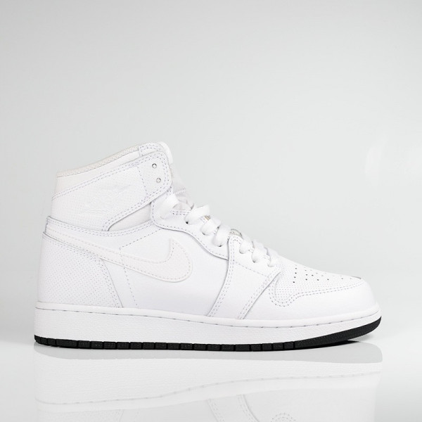 AIR JORDAN 1 RETRO HIGH OG BG WHITE/BLACK-WHITE