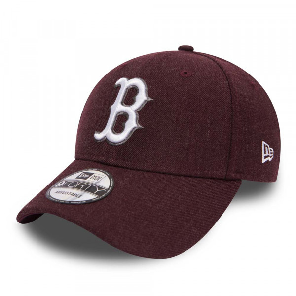 GORRA NEW ERA BOSTON GRANATE