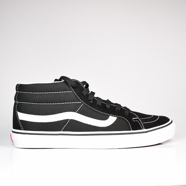 VANS SK8 MID REISSUE BLACK/TRUE WHITE