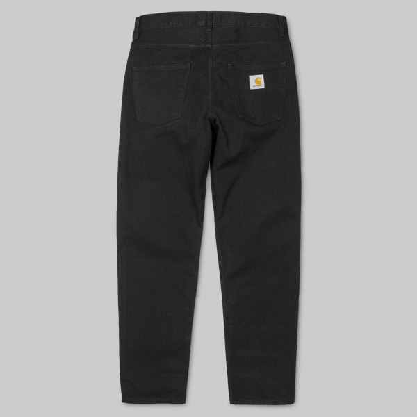 CARHARTT NEWEL PANT COTTON BLACK RINSED