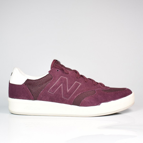 NEW BALANCE 300 BURGUNDY / WHITE