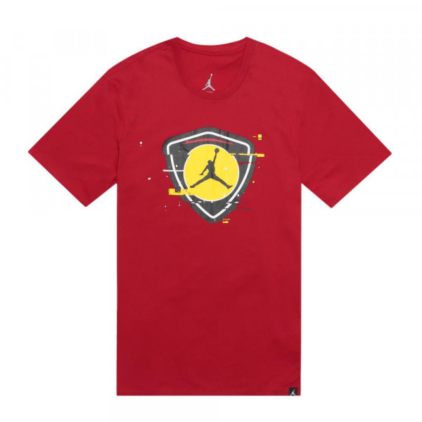 JORDAN SPORTSWEAR LAST SHOT SHIRT GYM RED/TOUR YELLOW
