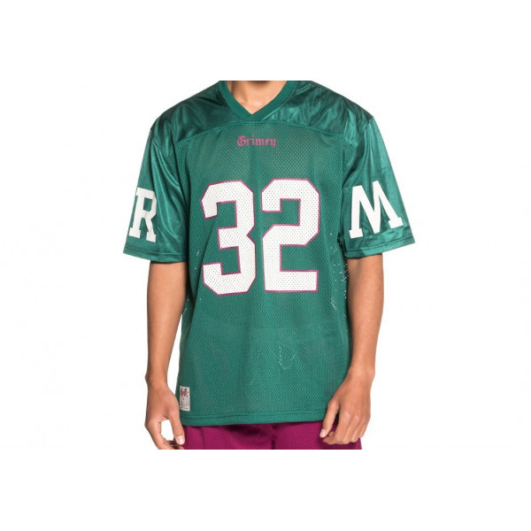 GRIMEY JADE LOTUS FOOTBALL JE GRN-GREEN FOOTBALL JERSEY