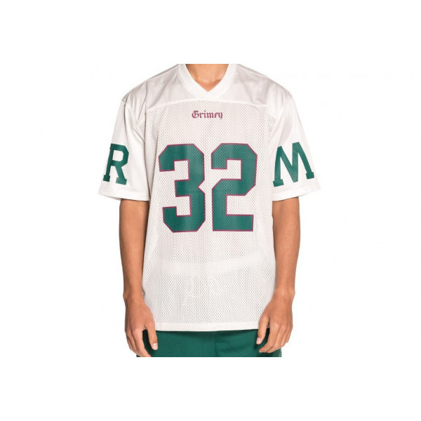 CAMISETA GRIMEY JADE LOTUS FOOTBALL JERSEY WHITE