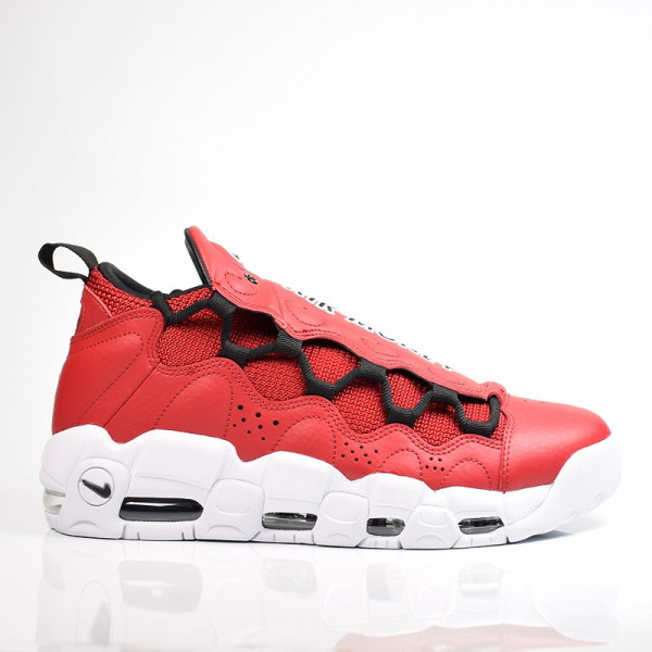 NIKE AIR MORE MONEY GYM RED / BLACK - WHITE