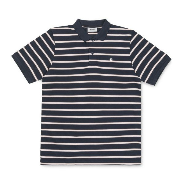 CARHARTT S/S VENICE MURRAY POLO MURRAY STRIPE / NAVY / SANDY RO